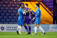 Ben Hinchliffe. Stockport County FC 3-2 Yeovil Town FC. Emirates FA Cup Second Round. Edgeley Park. 29.11.20