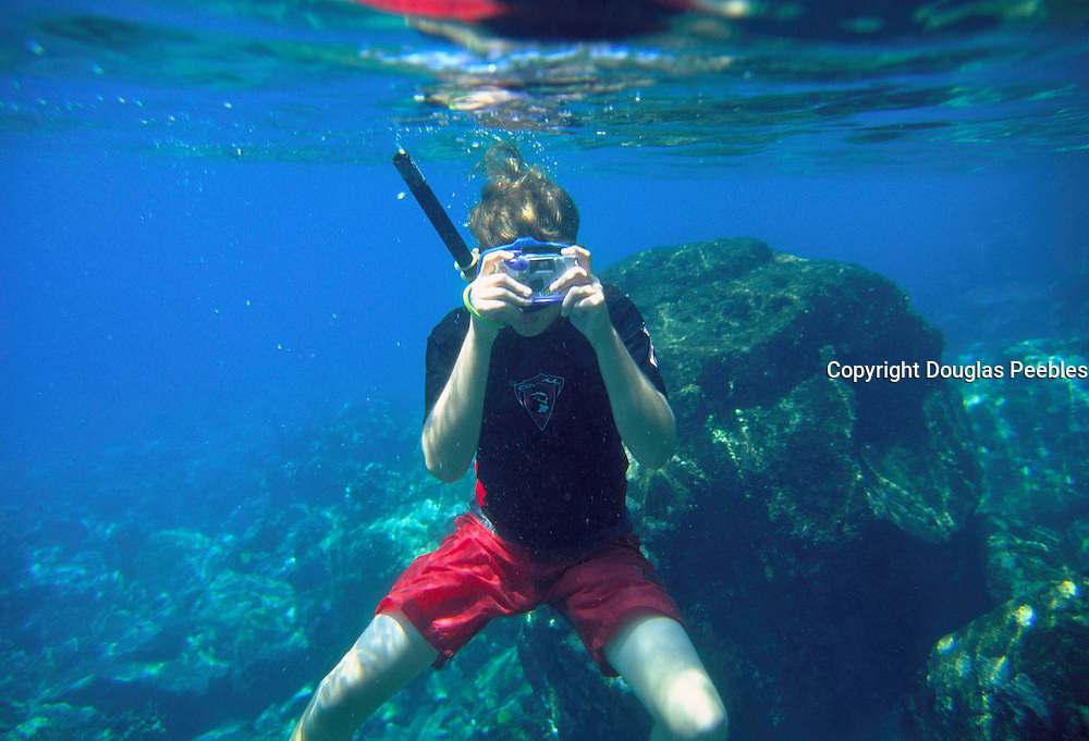 Snorkeling, Hawaii, USA<br />