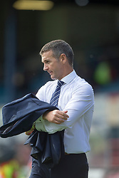 Ross County's manager Jim McIntrye after the end of the game. Dundee 1 v 2 Ross County, Scottish Premiership game played 5/8/2017 at Dundee's home ground Dens Park.