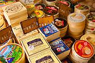 Cheese market Stall Honfleur market France