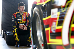 November 18, 2017 - Homestead, Florida, United States of America - November 18, 2017 - Homestead, Florida, USA: Erik Jones (77) hangs out in the garage prior to practice for Ford EcoBoost 400 at Homestead-Miami Speedway in Homestead, Florida. (Credit Image: © Justin R. Noe Asp Inc/ASP via ZUMA Wire)