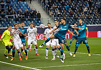 SAINT-PETERSBURG, RUSSIA - OCTOBER 20: Magomed Ozdoyev of Zenit St Petersburg in action during the UEFA Champions League Group F match between Zenit St Petersburg and Club Brugge KV at Gazprom Arena on October 20, 2020 in Saint-Petersburg, Russia [Photo by MB Media]