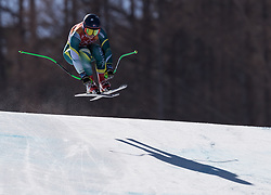 February 17, 2018 - PyeongChang, South Korea - GRETA SMALL of Australia during Alpine Skiing: Ladies Super-G at Jeongseon Alpine Centre at the 2018 Pyeongchang Winter Olympic Games. (Credit Image: © Patrice Lapointe via ZUMA Wire)