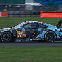 #77, Dempsey Proton Racing, Porsche 911 RSR, LMGTE Am, driven by: Christian Ried, Julien Andlauer, Matt Campbell at FIA WEC Silverstone 6h, 2018 on 17.08.2018