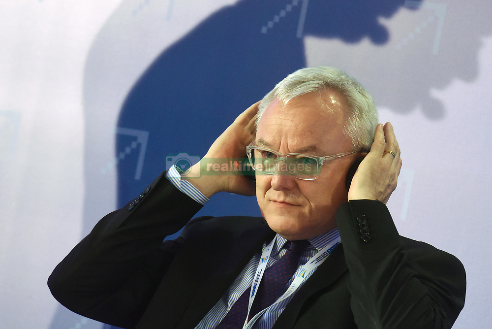December 18, 2018 - Kyiv, Ukraine - Head of the Support Group for Ukraine (SGUA) at the European Commission Peter Wagner attends the Ukraine in the European Digital Single Market Forum, Kyiv, capital of Ukraine, December 18, 2018. The event was organised by the State Agency for E-Governance of Ukraine, the European Commission, the EU and the OSCE Project Co-ordinator in Ukraine. The forum focused on cooperation in digital and innovation domains, the role of Ukraine in a globalised world and the prospects for e-Governance in Ukraine. Ukrinform. (Credit Image: © Olena Khudiakova/Ukrinform via ZUMA Wire)