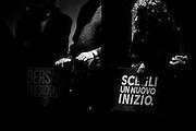 Chiusura della campagna elettorale del Partito Democratico per le elezioni regionali nel lazio, Roma 22 febbraio 2013. Giacomo Quilici / OneShot