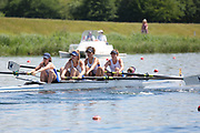 Race: 38  Event: Women's Coxed Fours - Championship - Final<br /> <br /> National Schools Regatta 2018<br /> Sunday<br /> <br /> To purchase this photo, or to see pricing information for Prints and Downloads, click the blue 'Add to Cart' button at the top-right of the page. The Metropolitan Regatta 2018
