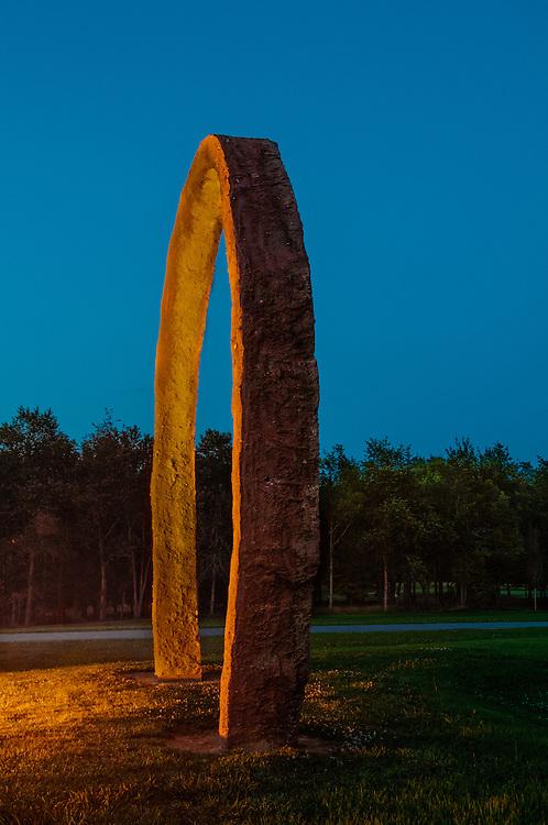 """Thomas Sayres """"Gyre"""" at the North Carolina Museum of Art, Raleigh, North Carolina"""