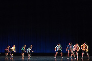 Santa Clara University's Department of Theatre & Dance performs during the Choreographer's Gallery dress rehearsal at Louis B. Mayer Theatre at Santa Clara University in Santa Clara, California, on December 1, 2015. (Stan Olszewski/SOSKIphoto)