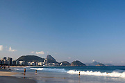 Copacabana beach,Rio de Janeiro.