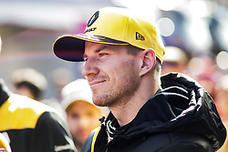 February 18, 2019 - Montmelo, BARCELONA, Spain - Nico Hulkenberg from Germany with 27 Renault F1 Team RS19 portrait during the Formula 1 2019 Pre-Season Tests at Circuit de Barcelona - Catalunya in Montmelo, Spain on February 18. (Credit Image: © AFP7 via ZUMA Wire)