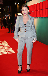 Jaime Winstone attending the Tomb Raider European Premiere held at Vue West End in Leicester Square, London.