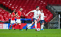 LONDON, ENGLAND - MARCH 31: Declan Rice of England in action during the FIFA World Cup 2022 Qatar qualifying match between England and Poland on March 31, 2021 in London, United Kingdom. Sporting stadiums around the UK remain under strict restrictions due to the Coronavirus Pandemic as Government social distancing laws prohibit fans inside venues resulting in games being played behind closed doors. (Photo by Wlosek/PressFocus/MB Media)