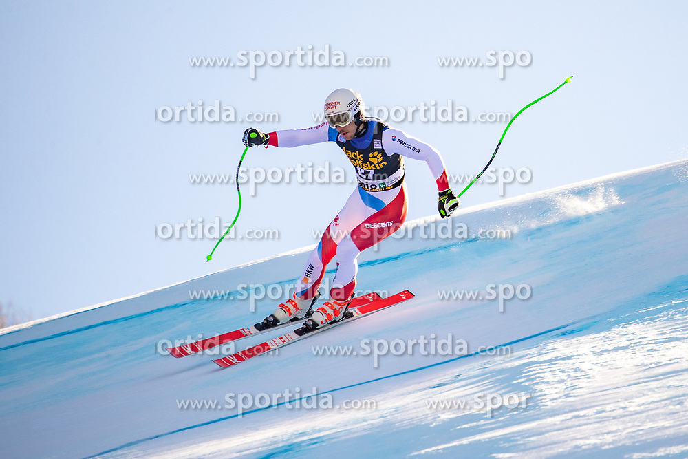 29.12.2018, Stelvio, Bormio, ITA, FIS Weltcup Ski Alpin, SuperG, Herren, im Bild Carlo Janka (SUI) // Carlo Janka of Switzerland in action during his run in the men's Super-G of FIS ski alpine world cup at the Stelvio in Bormio, Italy on 2018/12/29. EXPA Pictures © 2019, PhotoCredit: EXPA/ Johann Groder