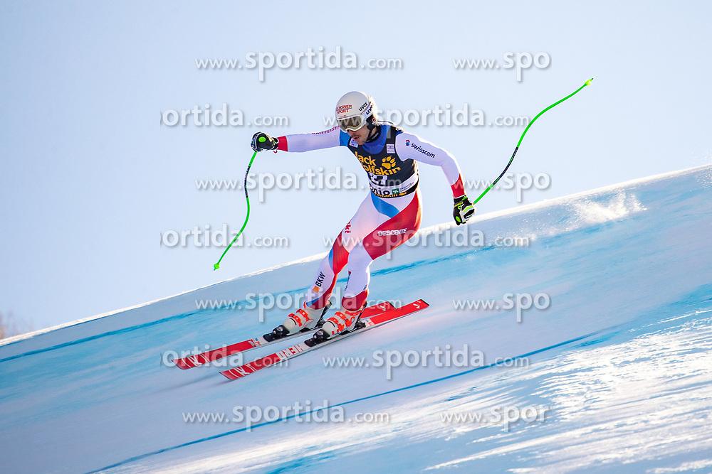 29.12.2018, Stelvio, Bormio, ITA, FIS Weltcup Ski Alpin, SuperG, Herren, im Bild Carlo Janka (SUI) // Carlo Janka of Switzerland in action during his run in the men's Super-G of FIS ski alpine world cup at the Stelvio in Bormio, Italy on 2018/12/29. EXPA Pictures © 2019, PhotoCredit: EXPA/ Johann Groder