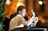 20090707: RIO DE JANEIRO, BRAZIL - Brazil and AC Milan star Alexandre Pato wedding with brazilian actress Sthefany Brito at Sao Francisco de Paula church in Rio de Janeiro. In picture: Alexandre Pato. PHOTO: CITYFILES