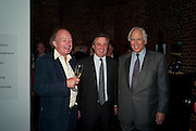 DAVID CAMPBELL; LORD ASTOR; SIR EVELYN DE ROTHSCHILD, The launch party for Elephant Parade hosted at the house of  Jan Mol. Covent Garden. London. 23 June 2009.