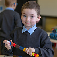 James Kelly on his First day at Cooraclare National School
