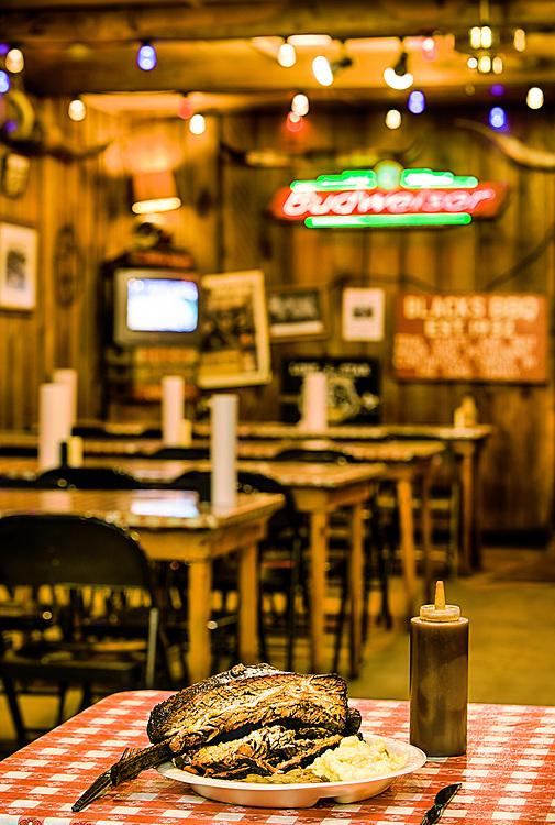 Blacks BBQ Lockhart Texas beef brisket and beef rib