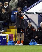 Photo: Mark Stephenson.<br /> West Bromwich Albion v Blackpool. Coca Cola Championship. 23/10/2007.Blackpool's manager Simon Grayson