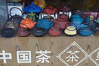 Chine, Shanghai, Nanshi l'ancienne ville chinoise. Boutique de the. // China, Shanghai, Nanshi the old chinese city, tea shop.