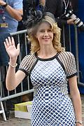 Prinsjesdag 2014 - Aankomst Politici op het Binnenhof.<br /> <br /> Op de foto: Tweede Kamerlid Mona Keijzer van het CDA
