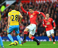 Robin van Persie of Manchester United in action - Manchester United vs. Crystal Palace - Barclay's Premier League - Old Trafford - Manchester - 08/11/2014 Pic Philip Oldham/Sportimage