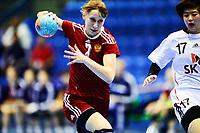 Håndball , 29. november 2013 , Møbelringen Cup kvinner<br /> Russland - Sør-Korea<br /> Elena Avdekova , Russland<br /> Handball , Women<br /> Russi - Korea