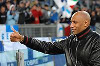 """Ousmane DABO saluta i tifosi<br /> Roma 15/5/2010 Stadio """"Olimpico""""<br /> Lazio Udinese<br /> Campionato Italiano Serie A 2009/2010 <br /> Foto Andrea Staccioli Insidefoto"""