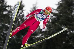 Ulrike Graessler of Germany during Normal Hill Individual Competition at FIS World Cup Ski jumping Ladies Ljubno 2012, on February 11, 2012 in Ljubno ob Savinji, Slovenia. (Photo By Vid Ponikvar / Sportida.com)