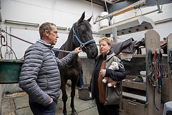 Hemeryck Rik, BEL, Morfine de Muze<br /> Haras de Lauzelle - Wavre 2021<br /> © Hippo Foto - Dirk Caremans<br /> 15/03/2021