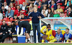 Birmingham City manager Garry Monk gestures on the touchline