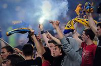 Fotball<br /> 06.06.2011<br /> Foto: Witters/Digitalsport<br /> NORWAY ONLY<br /> <br /> Fans Ukraine<br /> Testspiel, Ukraine - Frankreich 1:4<br /> <br /> Testspiel, Ukraina v Frankrike 1:4