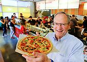 Jim Mizes, CEO of Blaze Pizza in Pasadena.