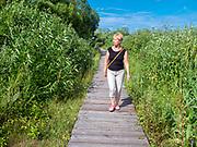 """Biebrzański Park Narodowy - ścieżka edukacyjna """"Kładka"""", Polska<br /> Biebrza National Park - educational trail """"Footbridge"""", Poland"""