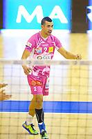 Toafa Takaniko - 20.12.2014 - Paris Volley / Sete - 12eme journee de Ligue A<br /> Photo : Andre Ferreira / Icon Sport