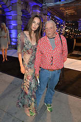 DAVID & CATHERINE BAILEY at the Royal Academy of Arts Summer Exhibition Preview Party at The Royal Academy of Arts, Burlington House, Piccadilly, London on 7th June 2016.