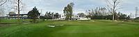 NOORDWIJK - Panorama foto, Driving range, clubhuis, accommodatie, restaurant.  Golfcentrum Noordwijk. COPYRIGHT KOEN SUYK