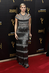 . Lake Bell  attends  2016 Creative Arts Emmy Awards - Day 2 at  Microsoft Theater on September 11th, 2016  in Los Angeles, California.Photo:Tony Lowe/Globephotos