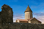 """Picture & image of Samtavisi Georgian Orthodox Cathedral, 11th century, Shida Karti Region, Georgia (country)<br /> <br /> Built during the so called 10-11th century """"Georgian Golden Era"""" Samtavisi cathedral is a built in classical Georgian style of the period. Layout on a cruciform ground plan with a high central cylindrical central cupola.<br /> <br /> Visit our MEDIEVAL PHOTO COLLECTIONS for more   photos  to download or buy as prints https://funkystock.photoshelter.com/gallery-collection/Medieval-Middle-Ages-Historic-Places-Arcaeological-Sites-Pictures-Images-of/C0000B5ZA54_WD0s<br /> <br /> Visit our REPUBLIC of GEORGIA HISTORIC PLACES PHOTO COLLECTIONS for more photos to browse, download or buy as wall art prints https://funkystock.photoshelter.com/gallery-collection/Pictures-Images-of-Georgia-Country-Historic-Landmark-Places-Museum-Antiquities/C0000c1oD9eVkh9c"""