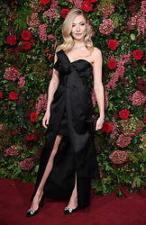 Clara Paget attending the Evening Standard Theatre Awards 2018 at the Theatre Royal, Drury Lane in Covent Garden, London. Restrictions: Editorial Use Only. Photo credit should read: Doug Peters/EMPICS