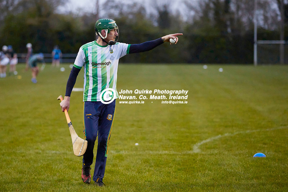 21-04-20, Meath Senior Hurling squad return to training at Dunganny<br /> Mark McCormack (Kildalkey) pictured during the first Meath Training session after the easing of the COVID-19 restrictions<br /> Photo: David Mullen / www.quirke.ie ©John Quirke Photography, Proudstown Road Navan. Co. Meath. 046-9079044 / 087-2579454.<br /> ISO: 5000; Shutter: 1/400; Aperture: 4;