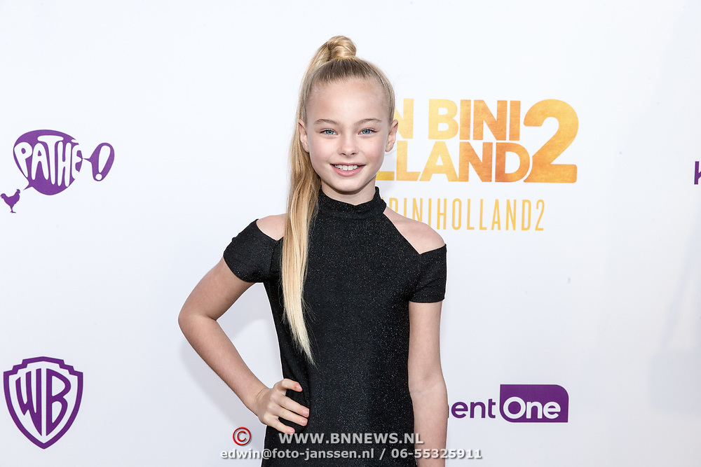 NLD/Amsterdam/20181209 - Premiere  Bon Bini Holland 2, Summer de Snoo