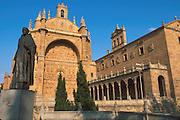 SPAIN, CASTILE, SALAMANCA Convento de San Esteban facade