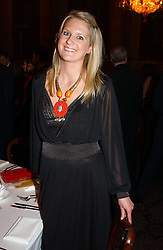 LADY KINVARA BALFOUR at a fashion show and dinner hosted by Shangri-la Hotels and Resorts and Andy Wong featuring fashion by new designer Lu Kun held at The Goldsmiths Hall, Foster Lane, London on 25th April 2005.<br />