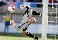 USA's goalkeeper Kasey Keller recorded his 28th clean sheet for the National Team as he turned away a strong Costa Rican attack in the second half. U.S.A. defeated Costa Rica 3 - 0 in final round World Cup qualifying at Rice-Eccles Stadium, Salt Lake City, UT, on June 4, 2005.