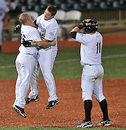 The Lake Erie Crushers defeated Washington 3-2 in 10 innings in Frontier League action at All Pro Freight Stadium in Avon, Ohio, on September 1, 2010. © David Richard