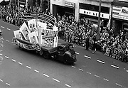 17/3/1966<br /> 3/17/1966<br /> 17 March 1966<br /> <br /> W.D.O.M.O Wills Display St. Patricks Day Parade