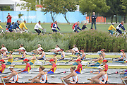 Eton Dorney, Windsor, Great Britain,..2012 London Olympic Regatta, Dorney Lake. Eton Rowing Centre, Berkshire[ Rowing]...Description;  Heat of the  W8+ GBR W8+ .Olivia WHITLAM (b) , Louisa REEVE (2) , Jessica EDDIE (3) , Lindsey MAGUIRE (4) , Natasha PAGE (5) , Annabel VERNON (6) , Katie GREVES (7) , Victoria THORNLEY (s) , Caroline O'CONNOR (c).. Dorney Lake. 10:54:15  Tuesday  31/07/2012.  [Mandatory Credit: Peter Spurrier/Intersport Images].Dorney Lake, Eton, Great Britain...Venue, Rowing, 2012 London Olympic Regatta...