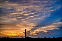 Sunset at Calshot Hampshire, England photo by Michael Palmer